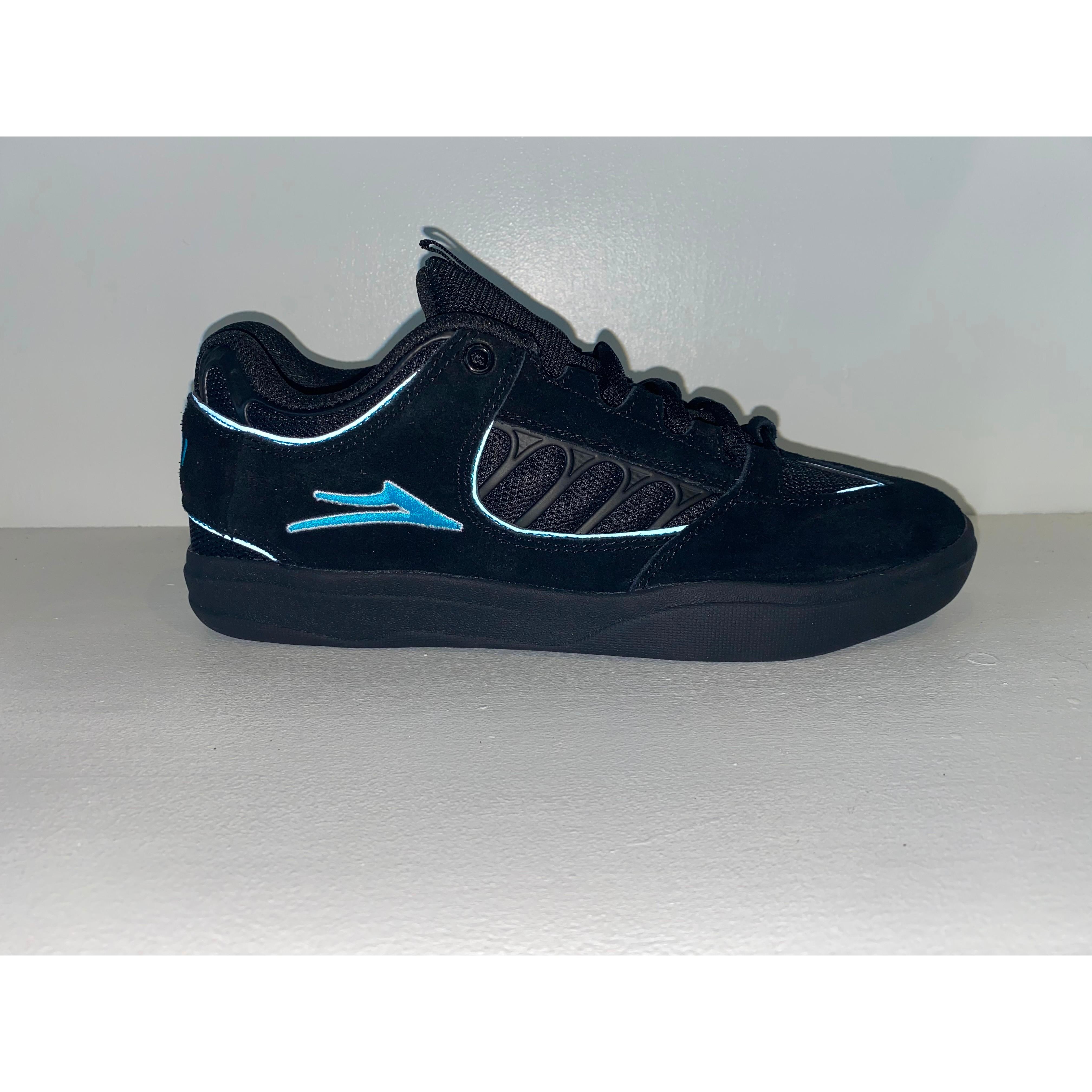 The Carroll Shoe (Black/Light Blue)
