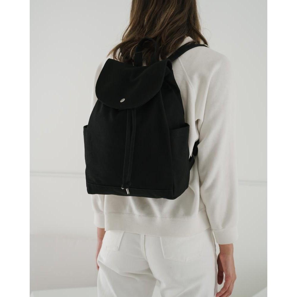 Baggu Drawstring Backpack (Black)