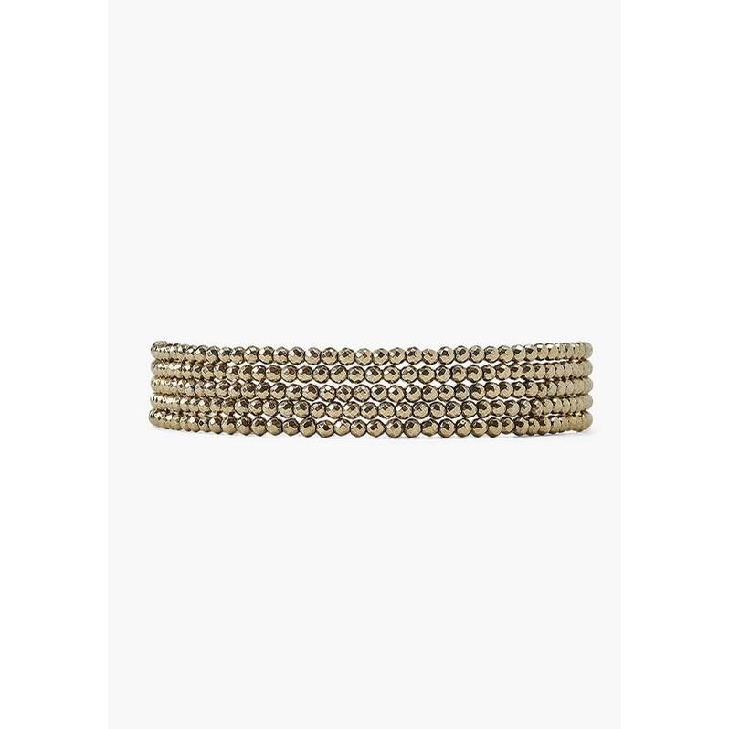 Pyrite Naked Wrap Bracelet (Pyrite)