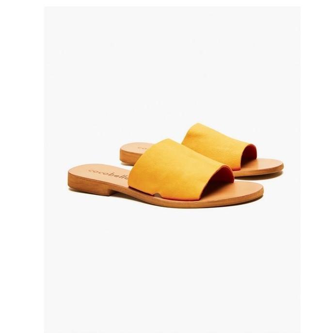 Bhea Ochre Slide Sandal
