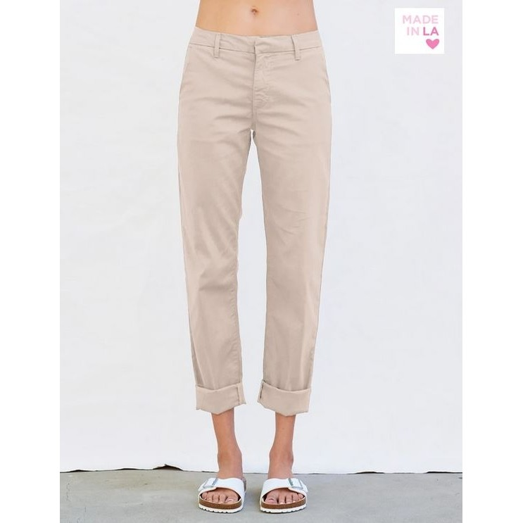 Roll Up Trouser (Sand)