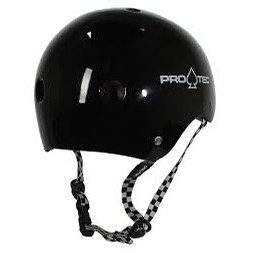Classic Helmet - black - checker