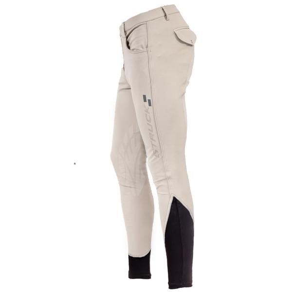 Mens 50 Series Knee Patch Breech (Beige)