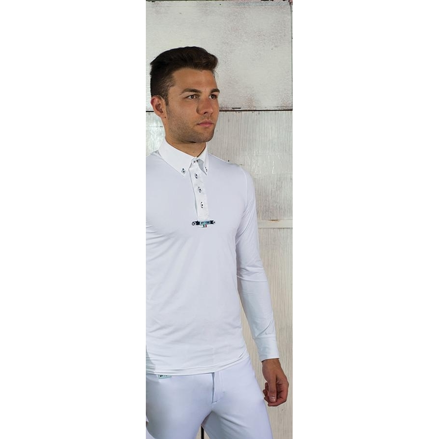 Mens Giove Long Sleeve Show Shirt