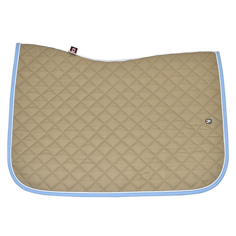 Jump Baby Pad without Girth Loops (Tan/White/Baby Blue)
