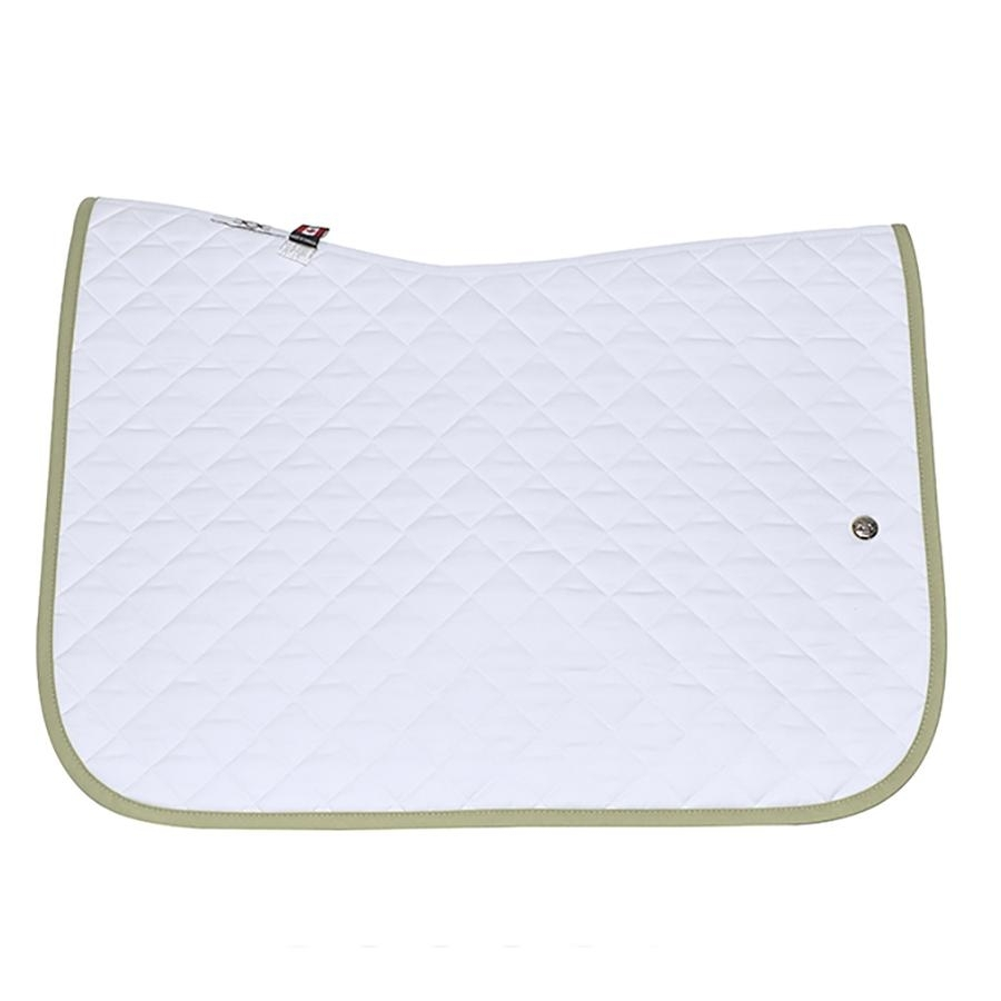 Jump Baby Pad without Girth Loops (White/Sage)