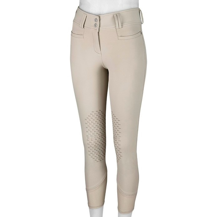 Ladies Harper Low Rise Knee Patch Breech (Sand)