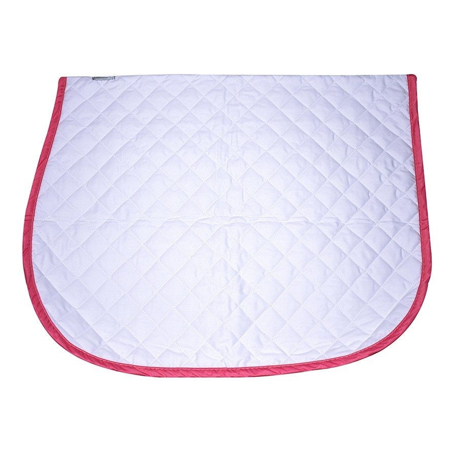 Hunter/Jumper Baby Pad (White/Pink)