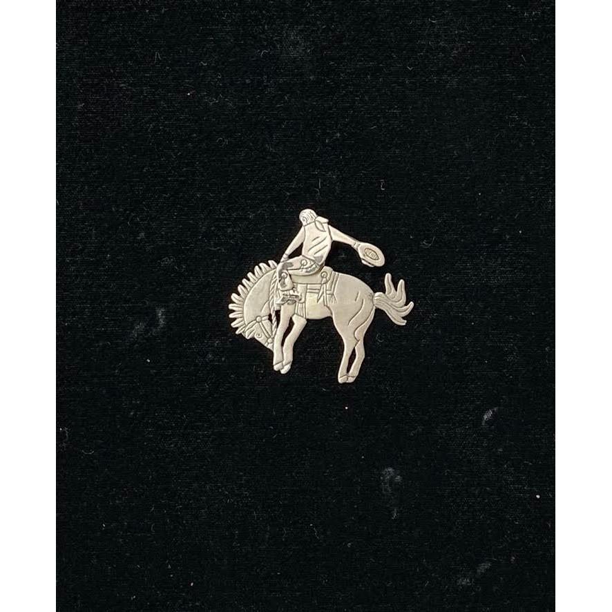 Cowbow on Buckin Bronco Mobile Pin