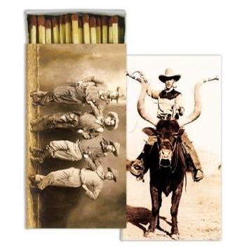 Matches - Longhorn Cowboy