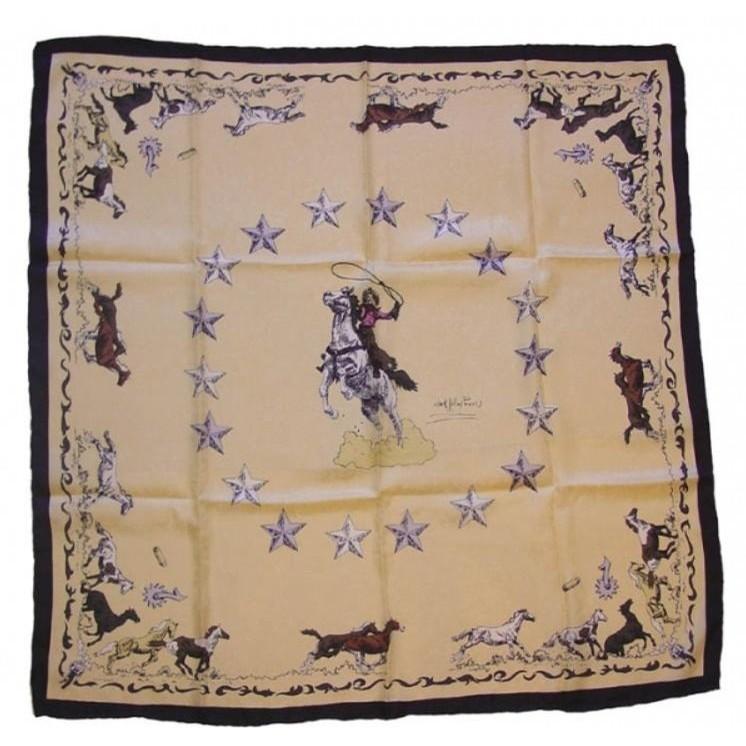 Mustang Wild Silk Rag (Ivory)