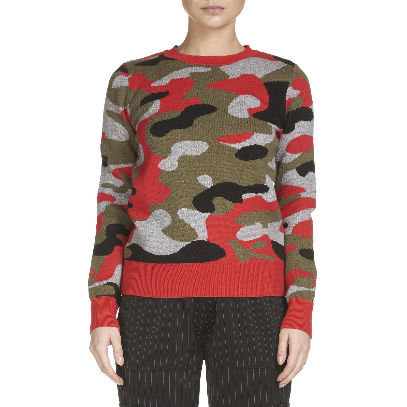 Kazan Sweater (Red Camo)