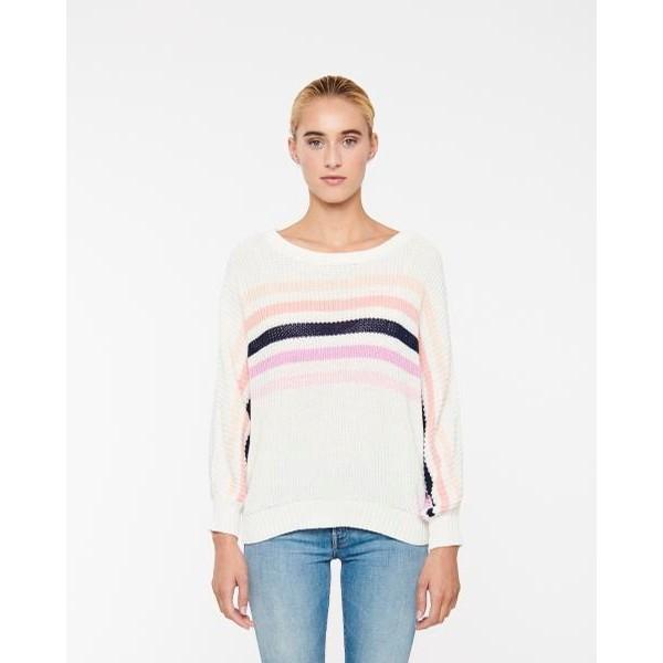 Jonah Open Neck Sweater (Capri)