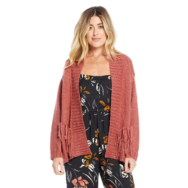 Half Moon Sweater (Rose Fringe)