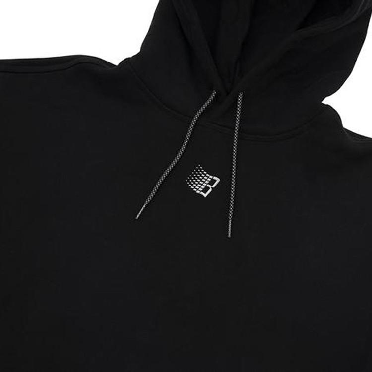 Micro Logo B Hoody (Black)