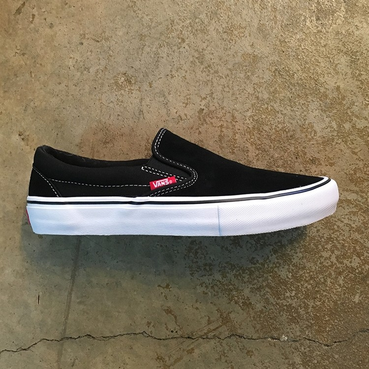 Vans Slip On Pro (Black/White/Gum)