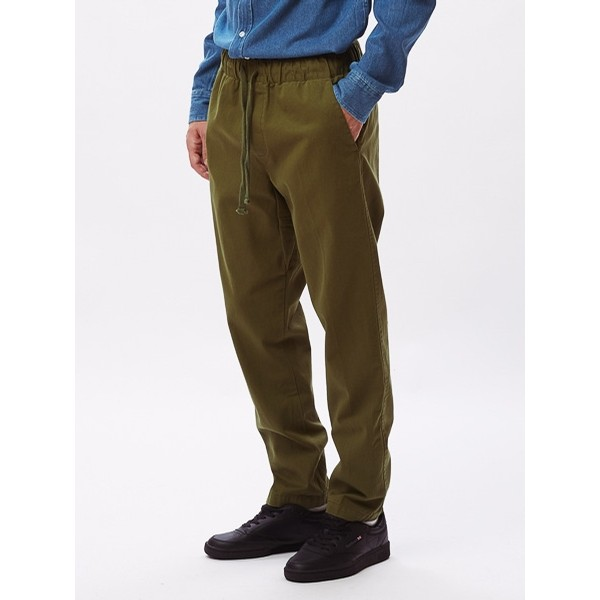 OBEY Ideals Organic Traveler Pant: Army