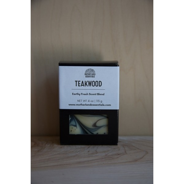 Teakwood Bar Soap