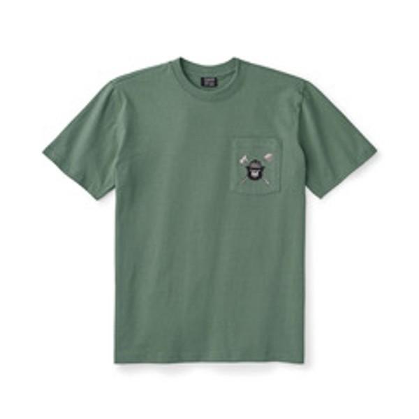 Smokey Bear Short Sleeve One Pocket T- Shirt