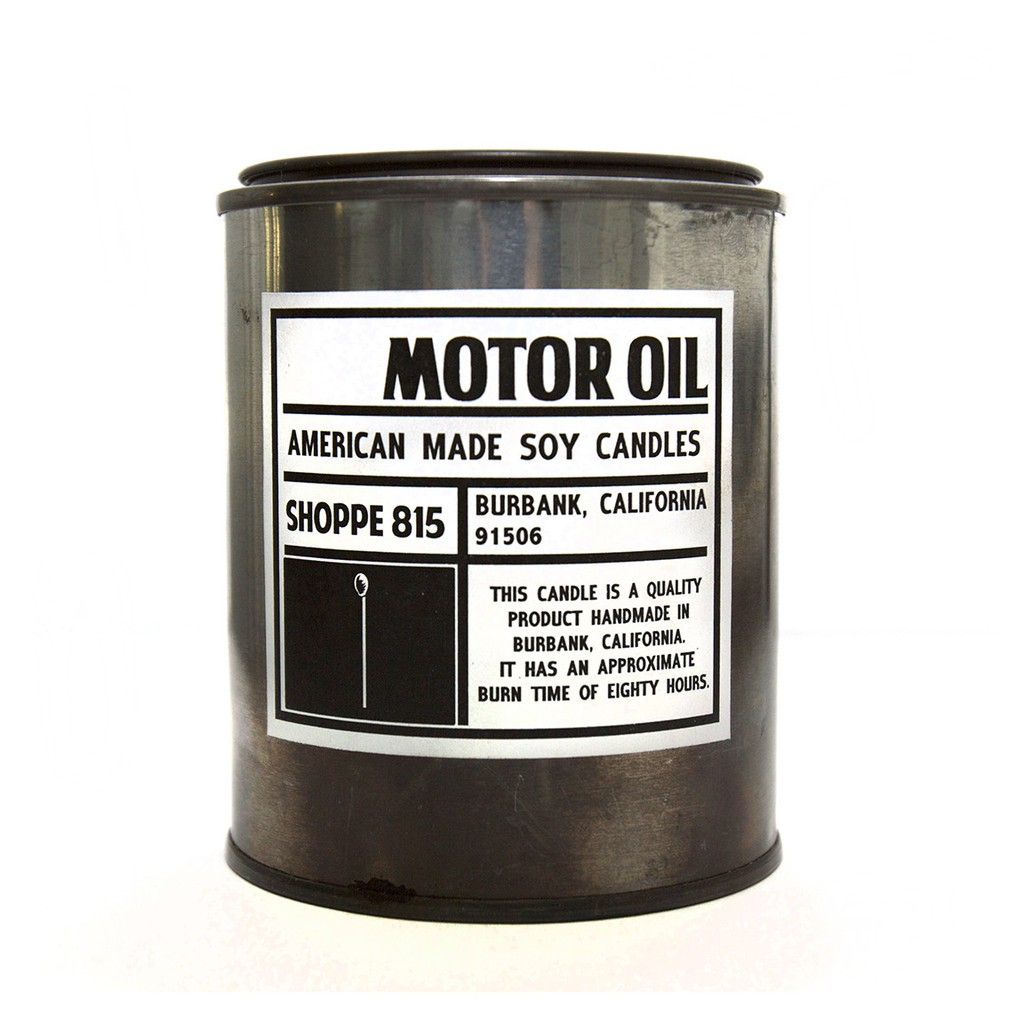 Motor Oil Candle