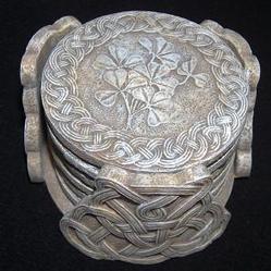 BOE Shamrock Celtic Coasters