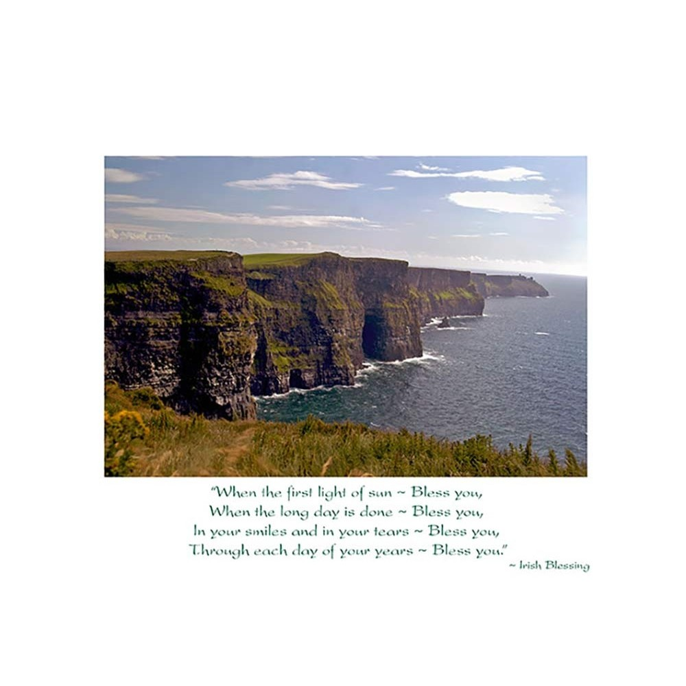 Mundo Images Cliffs of Moher Birthday Card