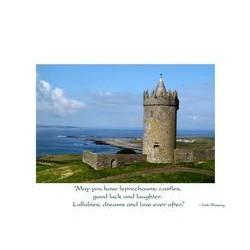 Irish Wedding Card Castle