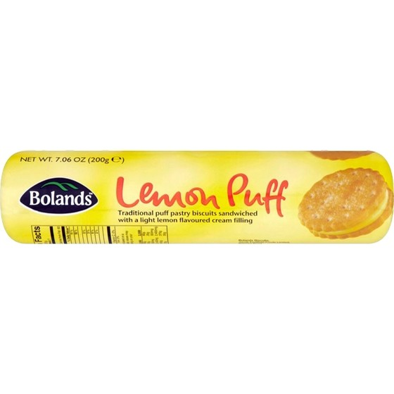 Food from Ireland Bolands Lemon Puffs