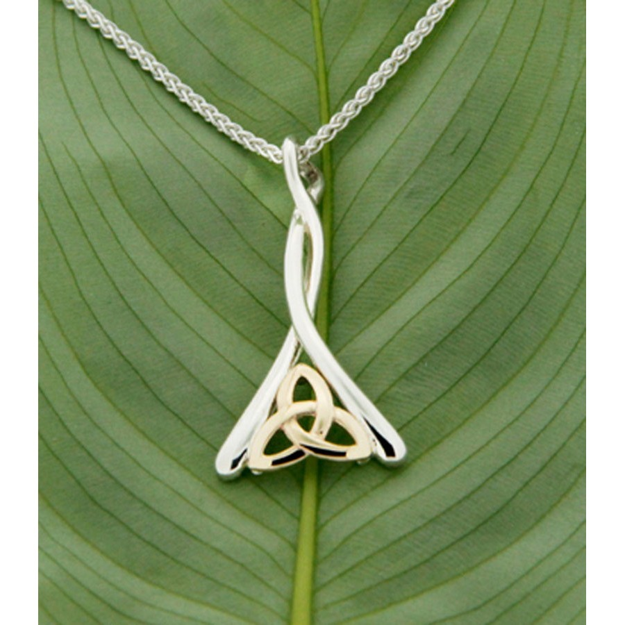 Keith Jack Jewelry Trinity Knot or Triquetra Pendant