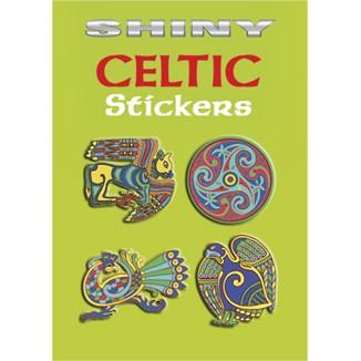 Shiny Celtic Stickers Book