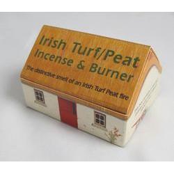 Irish Turf Incense Cottage Box