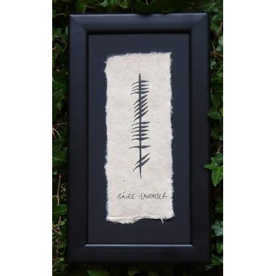 Ogham Wishes Ogham Gaire/Laughter