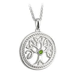 Solvar Jewelry Sterling Silver Tree Of Life Pendant