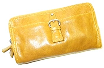 Tano chicklit wallet in curry yellow