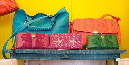 Kismet has bags in every shade of the rainbow