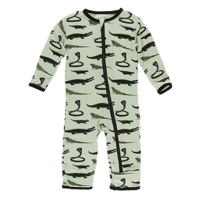 Zoology - Print Coverall with Zipper