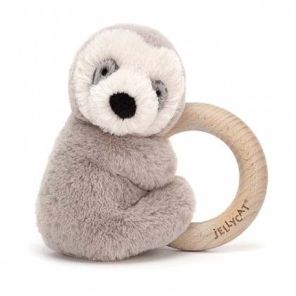 Shooshu Wooden Ring (Sloth)