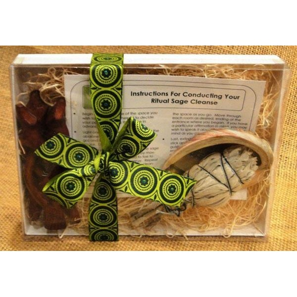 Basic Sage Smudge Cleansing Kit