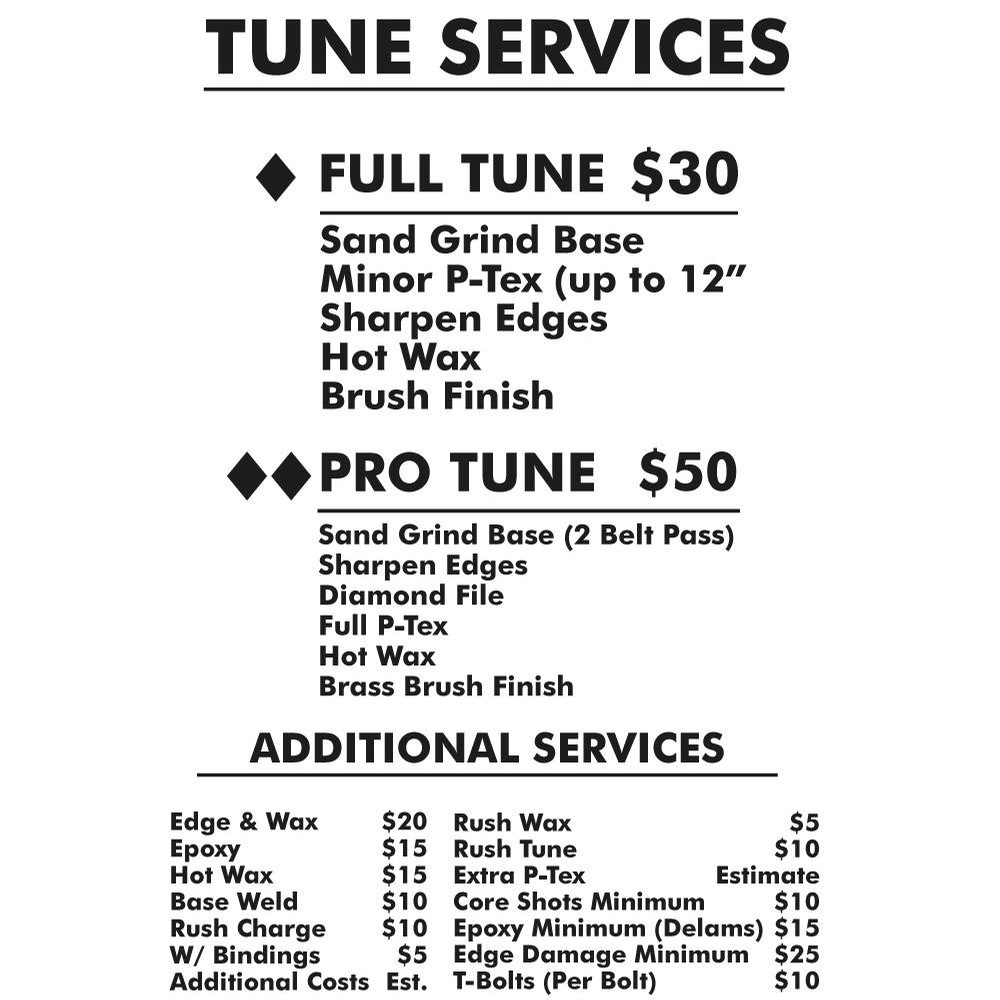 TUNING SERVICES