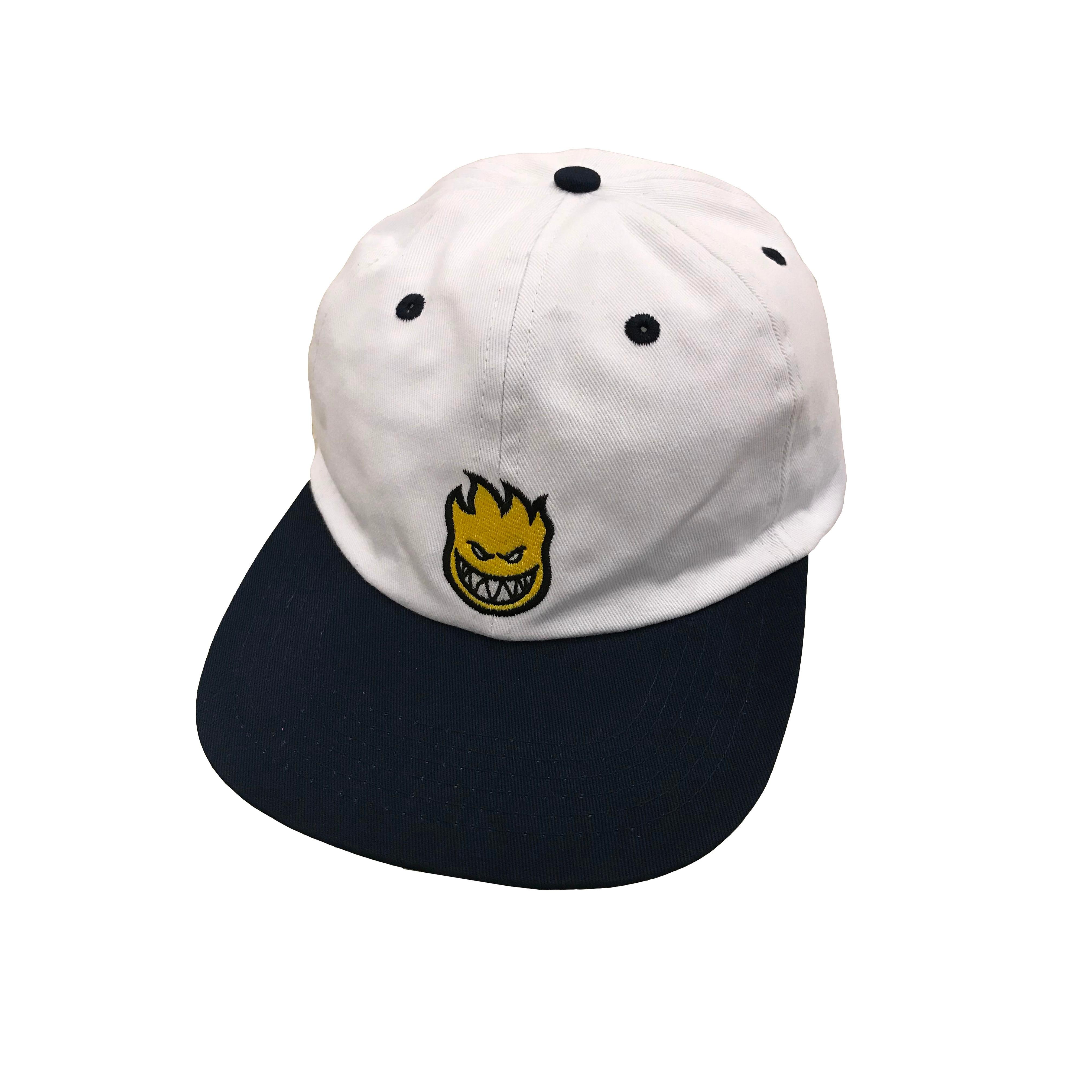 Bighead Hat (White/Navy Blue)