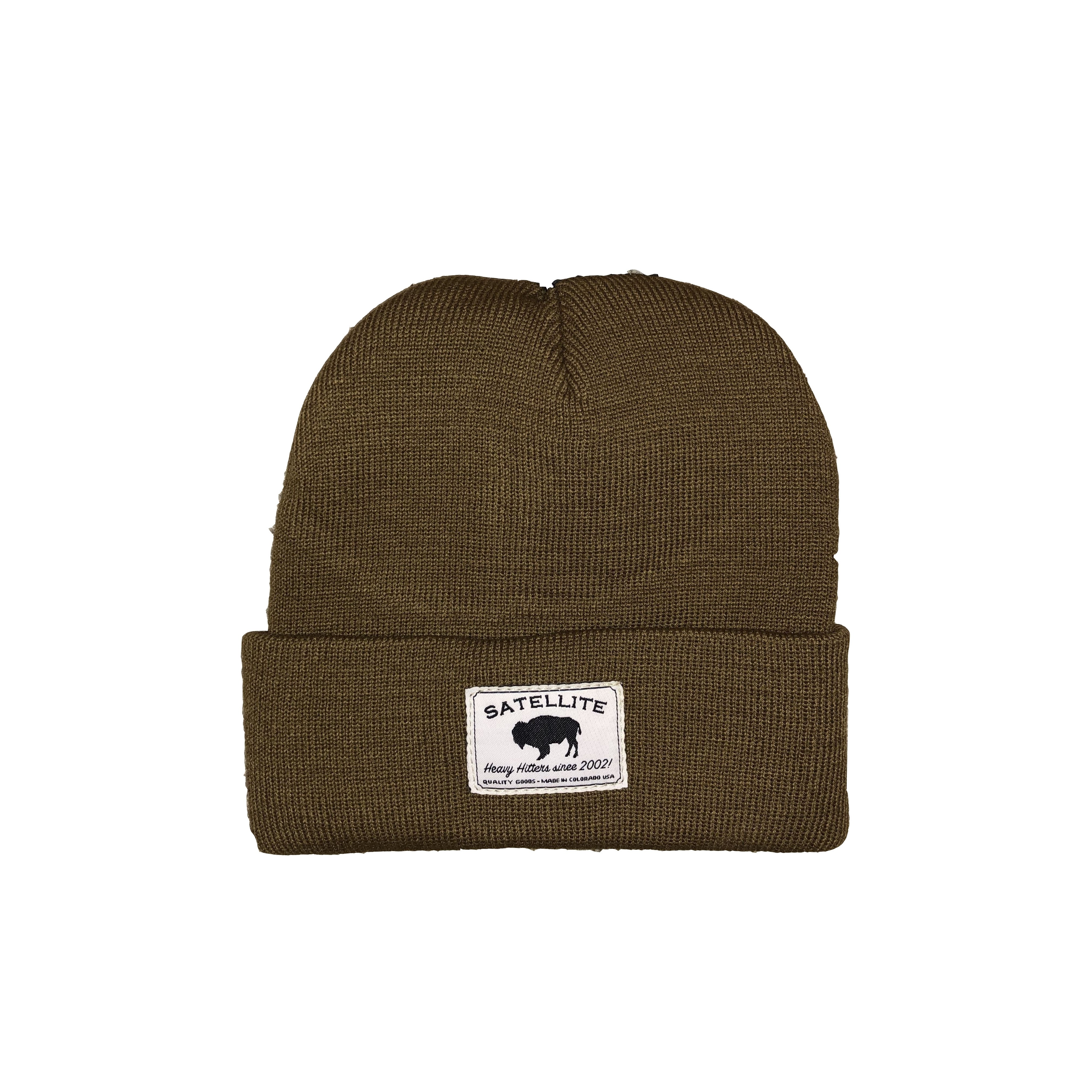 Satellite Fine Knit Watch Cap (Coyote/HeavyHitters)