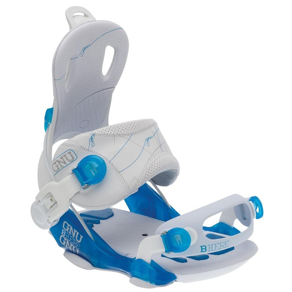 B Here Bindings (White)