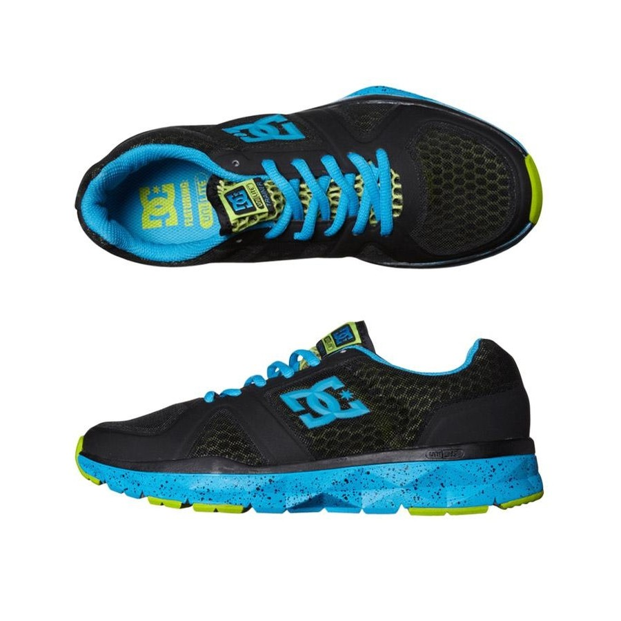 Unilite Trainer (Black/Turquoise/Soft Lime)