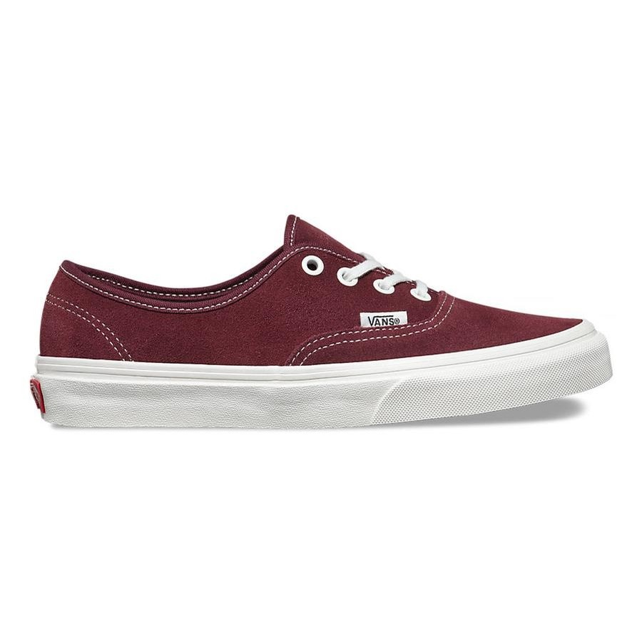 Authentic Varsity Suede (Red Mahogany)