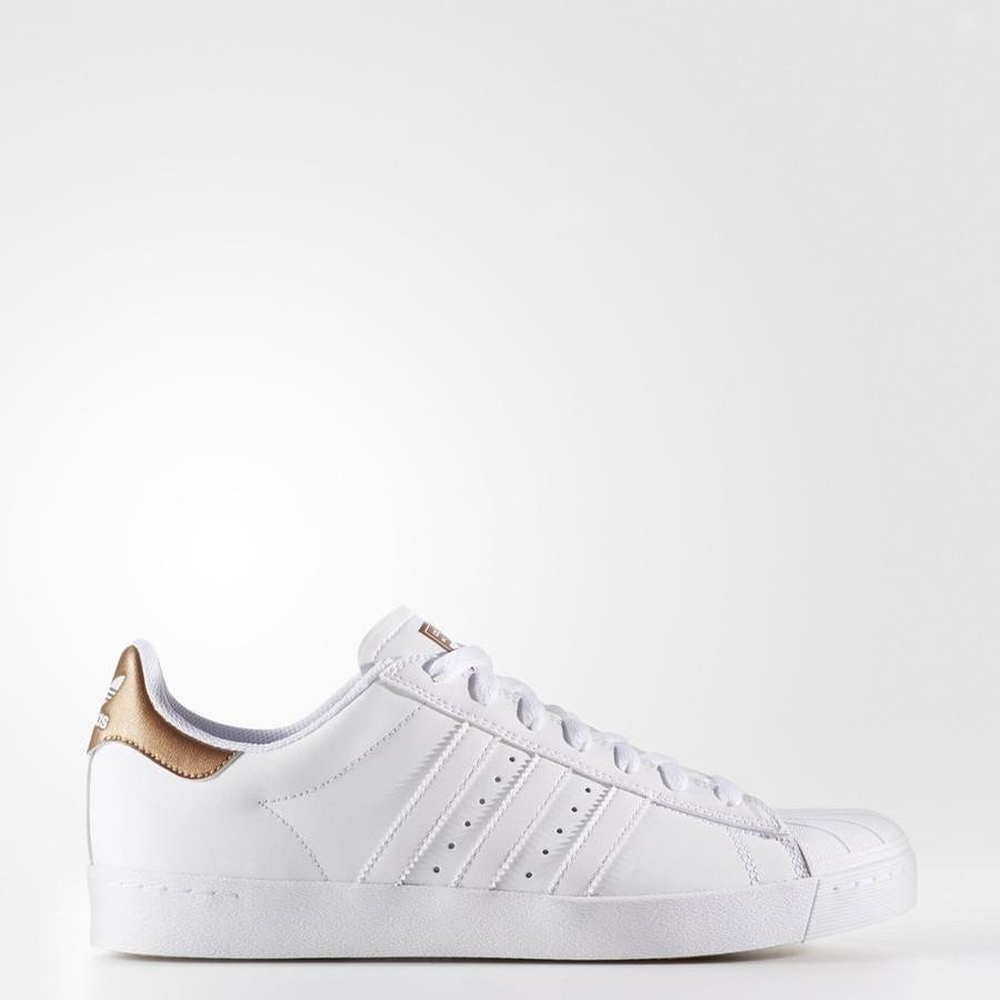 Adidas Superstar Vulc ADV (FTWWHT/COPPMT/FTWWHT)