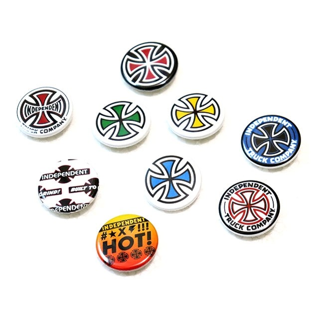 Independent Button Pin (Assorted)