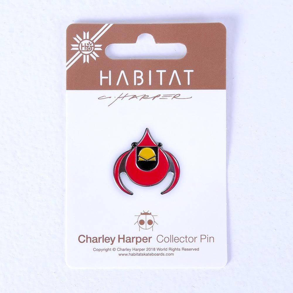 Harper-Cardinal Enamel Pin