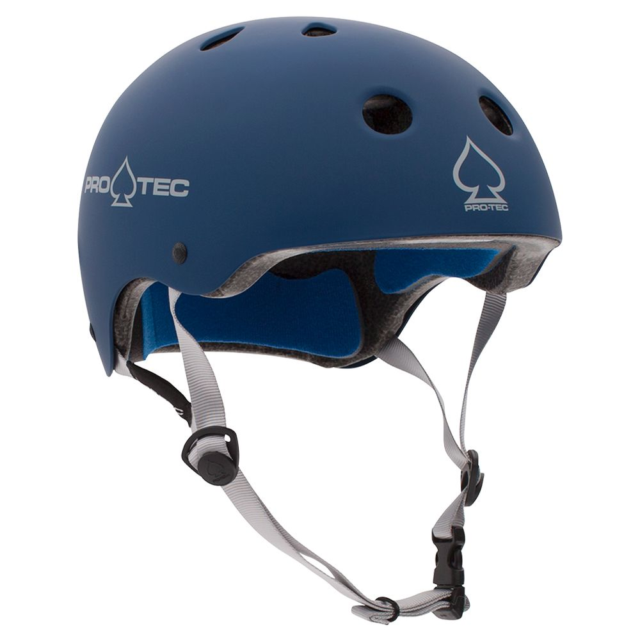 Classic Certified Matte Blue Helmet