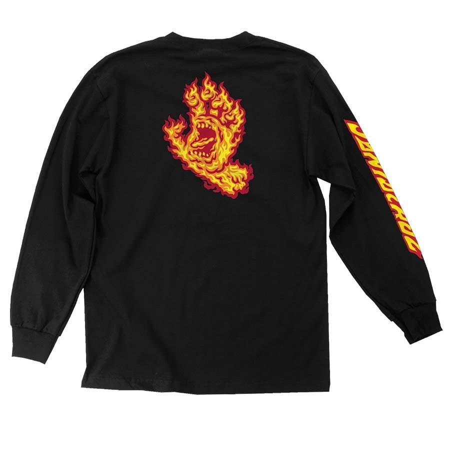 Flame Hand L/S Tee