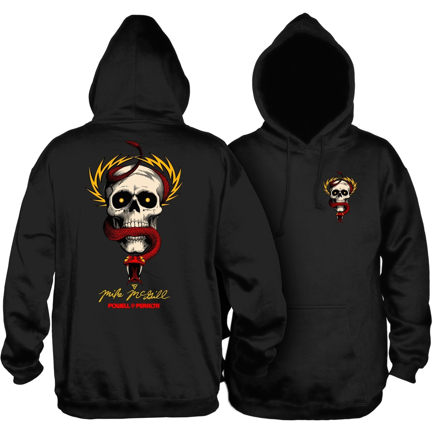 McGill Skull and Snake Hoodie